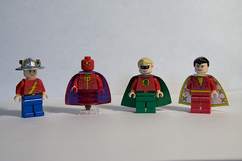 DC Hero Minifigs - Wave 4